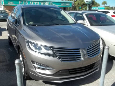 2017 Lincoln MKC for sale at PJ's Auto World Inc in Clearwater FL