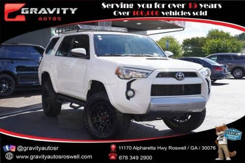 2018 Toyota 4Runner for sale at Gravity Autos Roswell in Roswell GA