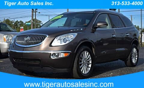2008 Buick Enclave for sale at TIGER AUTO SALES INC in Redford MI