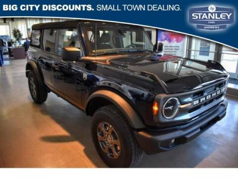 2021 Ford Bronco for sale at STANLEY FORD ANDREWS in Andrews TX