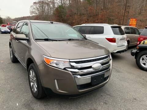 2012 Ford Edge for sale at D & M Discount Auto Sales in Stafford VA