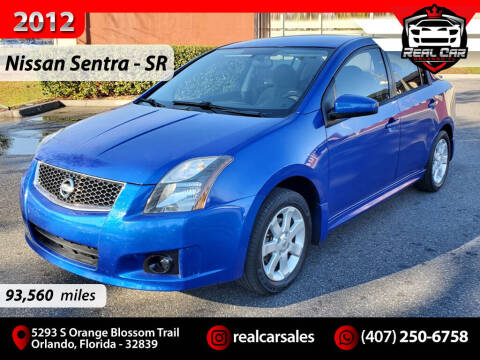 2012 Nissan Sentra for sale at Real Car Sales in Orlando FL
