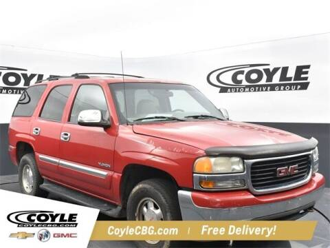 2001 GMC Yukon for sale at COYLE GM - COYLE NISSAN - New Inventory in Clarksville IN