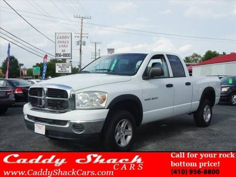 2007 Dodge Ram Pickup 1500 for sale at CADDY SHACK CARS in Edgewater MD