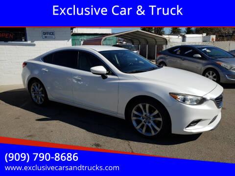 2014 Mazda MAZDA6 for sale at Exclusive Car & Truck in Yucaipa CA