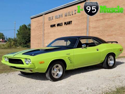 1973 Dodge Challenger for sale at I-95 Muscle in Hope Mills NC