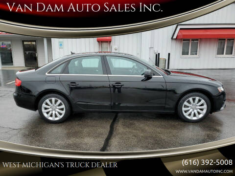 2011 Audi A4 for sale at Van Dam Auto Sales Inc. in Holland MI