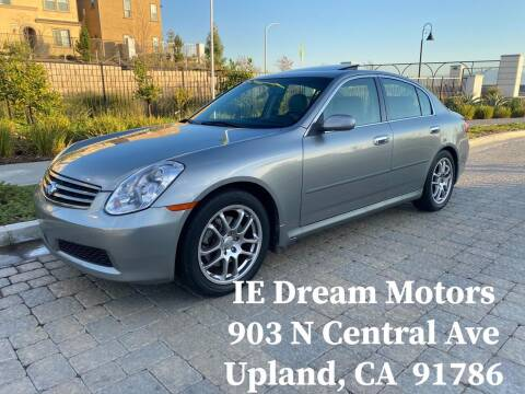 2006 Infiniti G35 for sale at IE Dream Motors-Upland in Upland CA