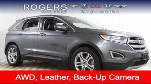 2015 Ford Edge for sale at ROGERS  AUTO  GROUP in Chicago IL
