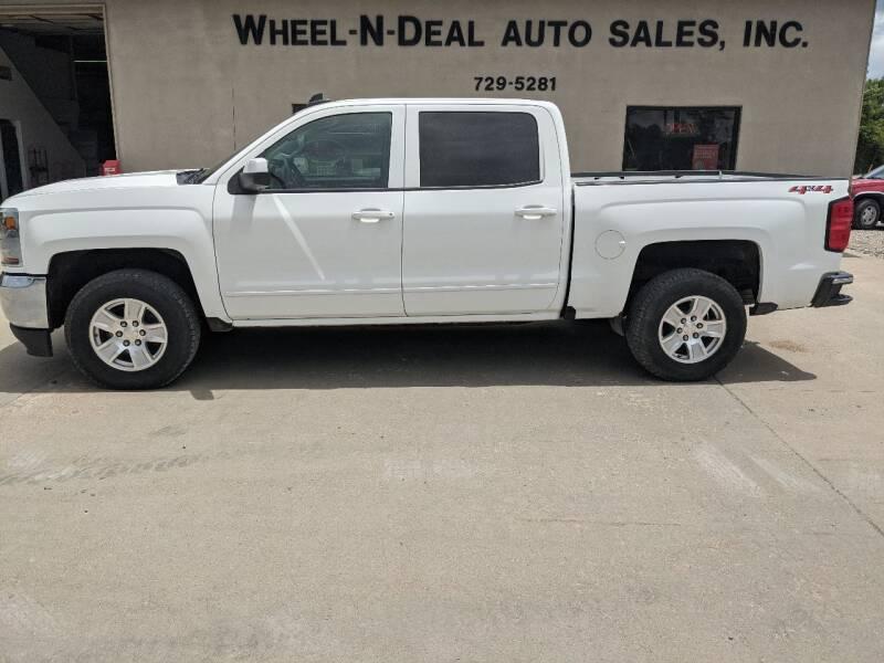 2018 Chevrolet Silverado 1500 for sale at Wheel - N - Deal Auto Sales Inc in Fairbury NE