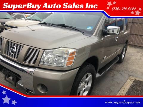 2007 Nissan Armada for sale at SuperBuy Auto Sales Inc in Avenel NJ