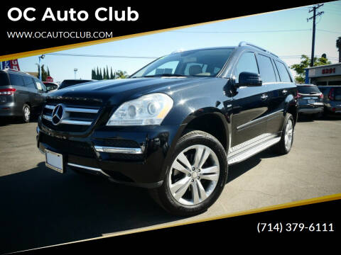 2012 Mercedes-Benz GL-Class for sale at OC Auto Club in Midway City CA