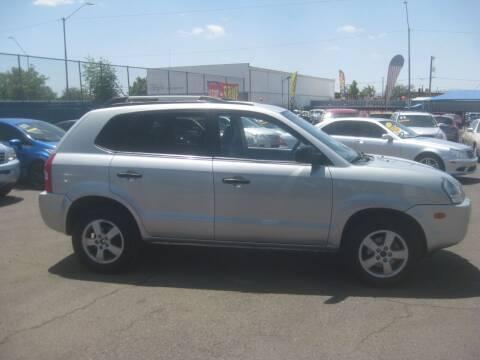 2008 Hyundai Tucson for sale at Town and Country Motors - 1702 East Van Buren Street in Phoenix AZ