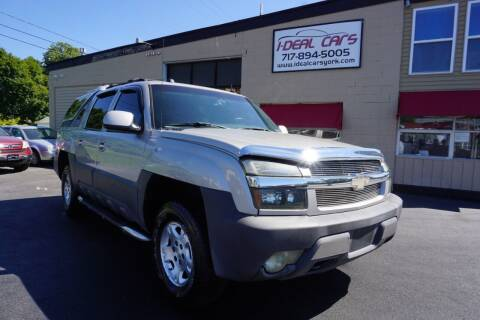 2004 Chevrolet Avalanche for sale at I-Deal Cars LLC in York PA