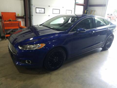 2016 Ford Fusion for sale at Hometown Automotive Service & Sales in Holliston MA
