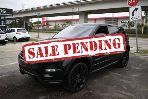2013 Land Rover Range Rover Evoque for sale at STS Automotive - Miami, FL in Miami FL