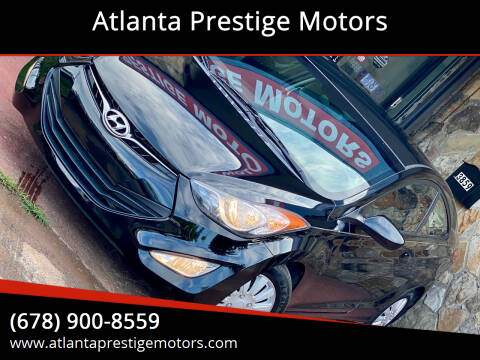 2013 Hyundai Elantra Coupe for sale at Atlanta Prestige Motors in Decatur GA