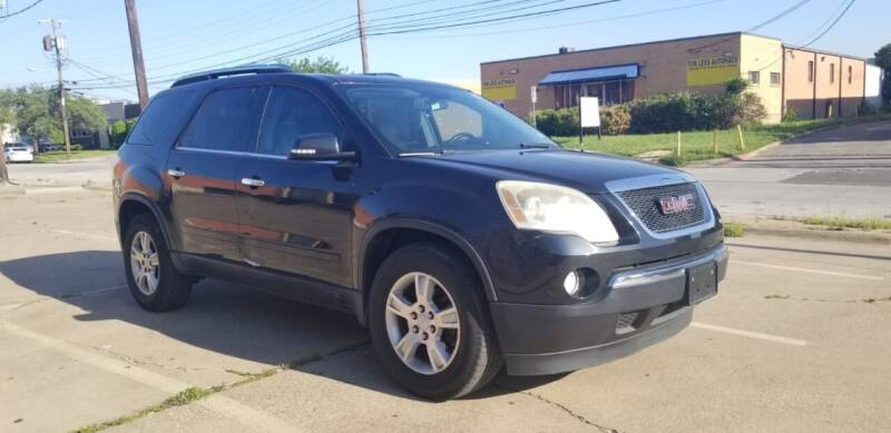 2009 GMC Acadia for sale at Dynasty Auto in Dallas TX