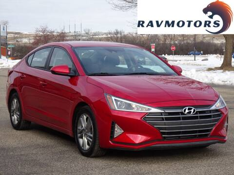 2020 Hyundai Elantra for sale at RAVMOTORS in Burnsville MN