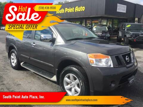 2011 Nissan Armada for sale at South Point Auto Plaza, Inc. in Albany NY