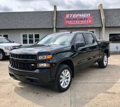 2019 Chevrolet Silverado 1500 for sale at Stephen Motor Sales LLC in Caldwell OH