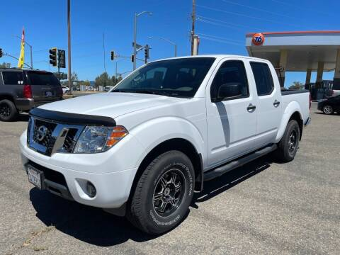 2012 Nissan Frontier for sale at Deruelle's Auto Sales in Shingle Springs CA