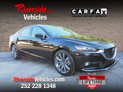 2018 Mazda MAZDA6 for sale at Riverside Mitsubishi(New Bern Auto Mart) in New Bern NC