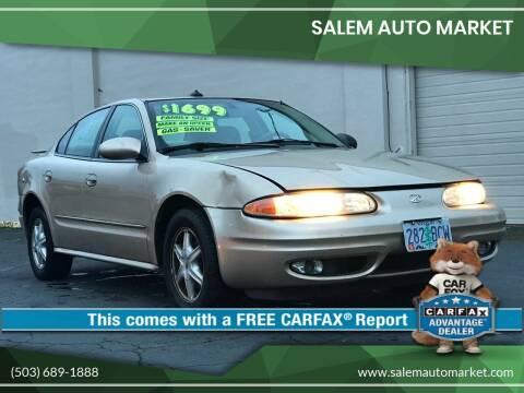 2003 Oldsmobile Alero for sale at Salem Auto Market in Salem OR