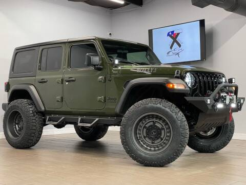 2021 Jeep Wrangler Unlimited for sale at TX Auto Group in Houston TX