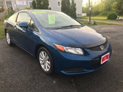 2012 Honda Civic for sale at FUSION AUTO SALES in Spencerport NY