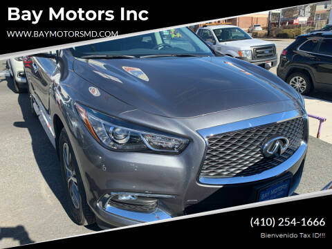 2017 Infiniti QX60 for sale at Bay Motors Inc in Baltimore MD