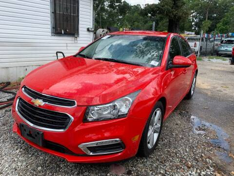 2015 Chevrolet Cruze for sale at Triple A Wholesale llc in Eight Mile AL