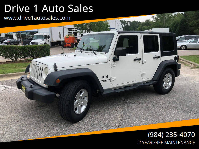 2007 Jeep Wrangler Unlimited for sale at Drive 1 Auto Sales in Wake Forest NC