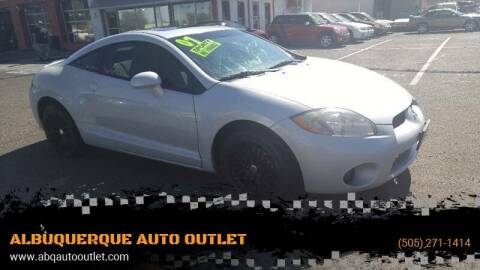2007 Mitsubishi Eclipse for sale at ALBUQUERQUE AUTO OUTLET in Albuquerque NM