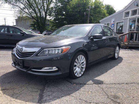 2014 Acura RLX for sale at Top Line Import of Methuen in Methuen MA