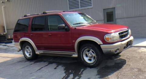 1999 Ford Explorer for sale at D & J AUTO EXCHANGE in Columbus IN