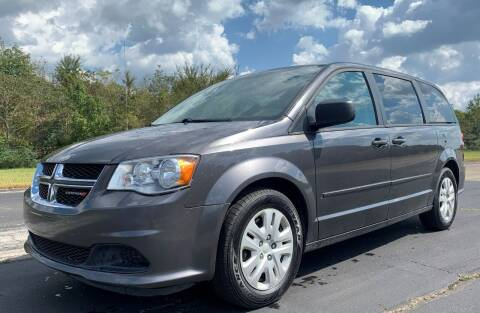 2016 Dodge Grand Caravan for sale at Crawley Motor Co in Parsons TN