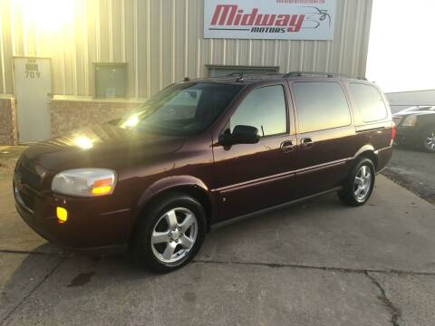 2007 Chevrolet Uplander for sale at Midway Motors in Conway AR
