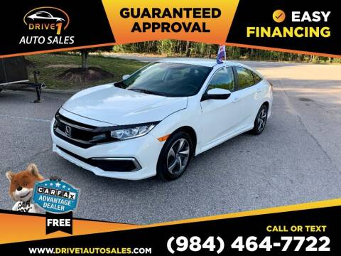 2020 Honda Civic for sale at Drive 1 Auto Sales in Wake Forest NC