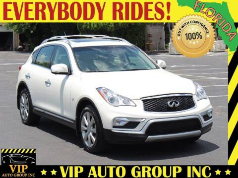 2017 Infiniti QX50 for sale at VIP Auto Group in Clearwater FL