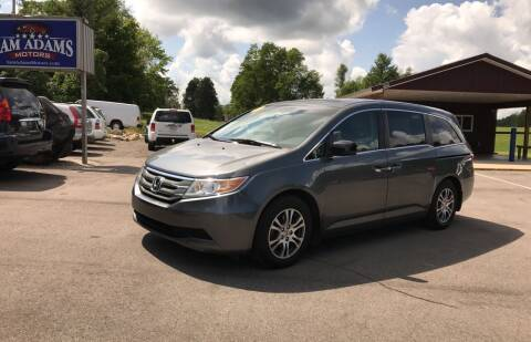 2011 Honda Odyssey for sale at Sam Adams Motors in Cedar Springs MI