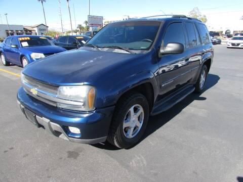 2003 Chevrolet TrailBlazer for sale at Charlie Cheap Car in Las Vegas NV