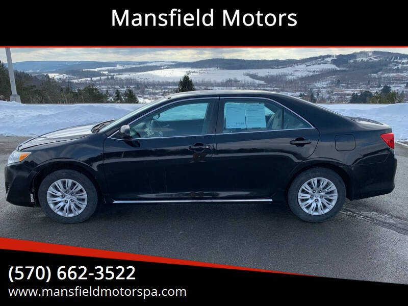 2014 Toyota Camry for sale at Mansfield Motors in Mansfield PA