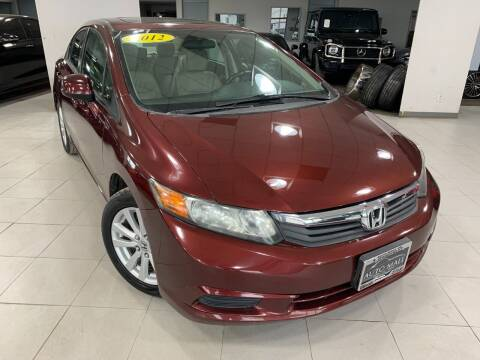 2012 Honda Civic for sale at Auto Mall of Springfield in Springfield IL