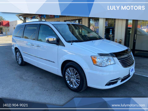 2013 Chrysler Town and Country for sale at Luly Motors in Lincoln NE