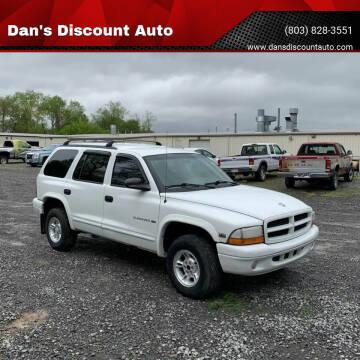 1998 Dodge Durango for sale at Dan's Discount Auto in Gaston SC