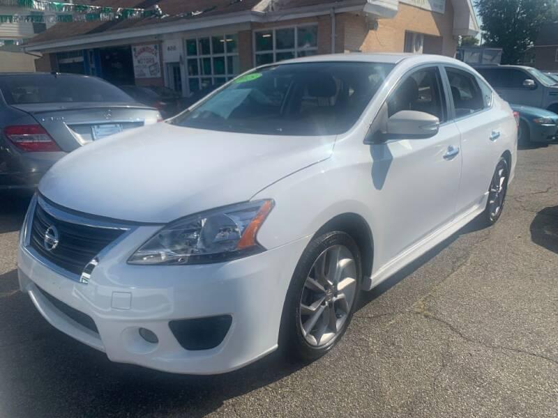 2015 Nissan Sentra for sale at Park Avenue Auto Lot Inc in Linden NJ