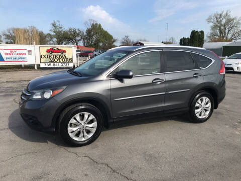 2012 Honda CR-V for sale at Cordova Motors in Lawrence KS