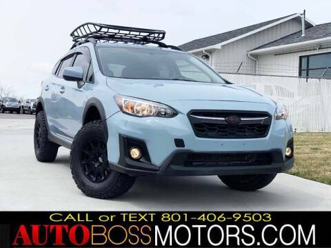 2019 Subaru Crosstrek for sale at Auto Boss in Woodscross UT