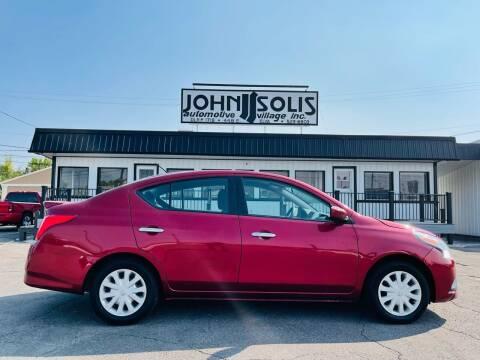 2016 Nissan Versa for sale at John Solis Automotive Village in Idaho Falls ID